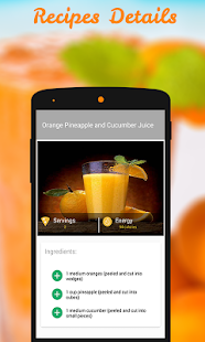Juice Recipes- screenshot thumbnail