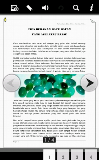 Tips Batu Bacan Asli dan Palsu for PC