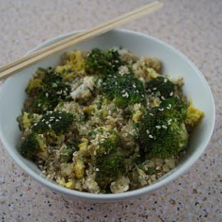 Broccoli & Cauliflower Egg-Fried Quinoa.