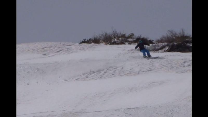 【八方尾根スキー場】バックカントリー・スキーで転倒!