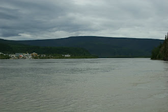 Photo: Yukon River bei Dawson City