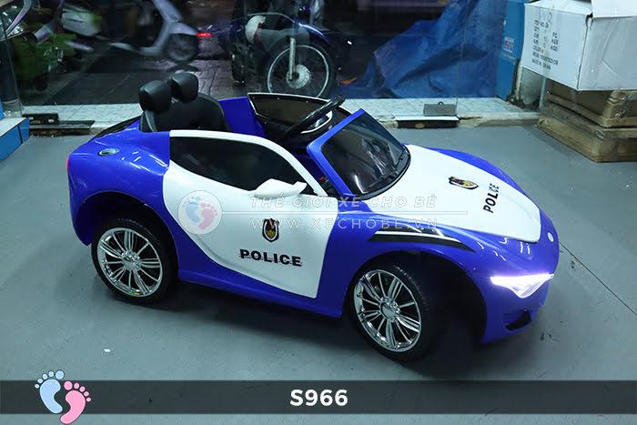 Xe ô tô điện cho bé Police XYS-966 15