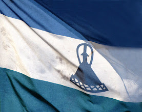 Photo: Flag of Lesotho