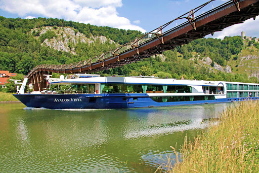 Avalon-Vista-Danube-canal - A European river cruise on the Avalon Vista includes transit through the canals along the Danube.