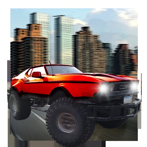 怪物汽車模擬器 賽車遊戲 App LOGO-APP試玩
