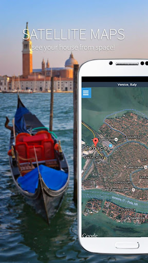 Maps, GPS Navigation & Directions, Street View Screenshot