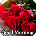 Flowers Roses Images Gif - Good Morning Messages APK