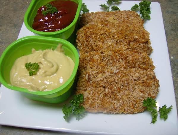 Panko Breaded Spam Slices Recipe