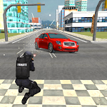 Police VS Mobster Parking 3D Icon