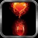 Wine Heart Live Wallpaper icon