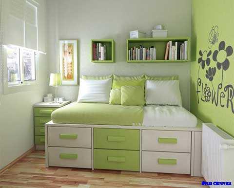十代のベッドルームのデザインのアイデア