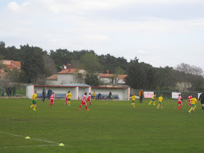 Photo: U11 WeST 2 sa pomlatkom prvoligaša u Štinjanu