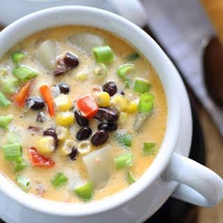 Black Bean Corn Chowder.