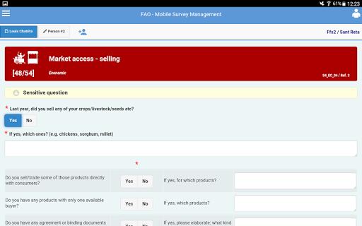 FAO-SHARP screenshot 5
