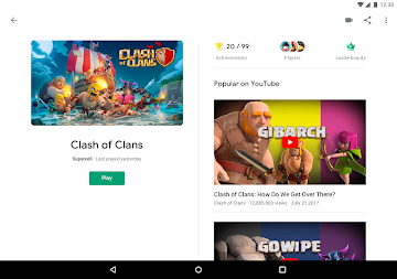 Google Play Games APK screenshot thumbnail 8