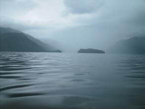 Photo: Blake Island across Bradfield Canal from Anan Bay.