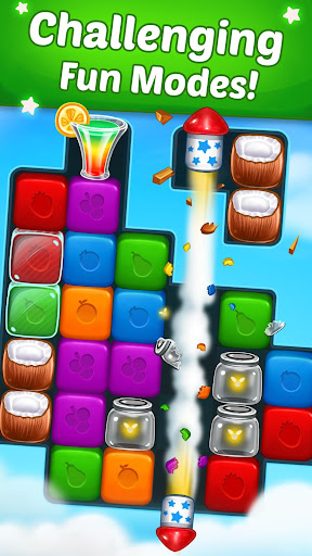 Fruit Cube Blast apktram screenshots 2
