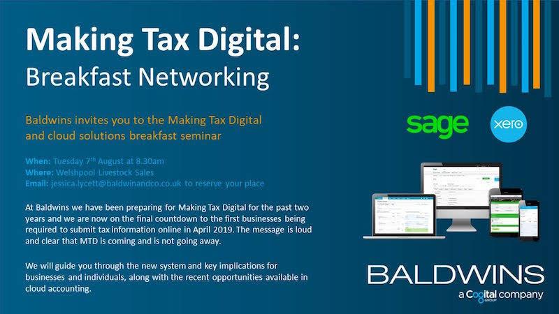 Free tax seminar in town