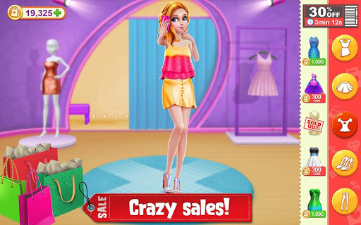 Shopping Mania - Black Friday Fashion Mall Game 1.0.4 screenshots 1