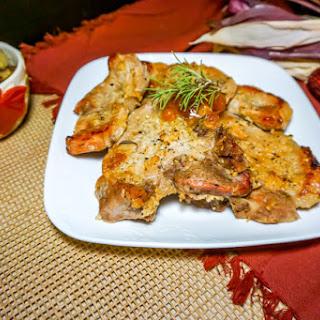 Rosemary Apricot Pork Chop