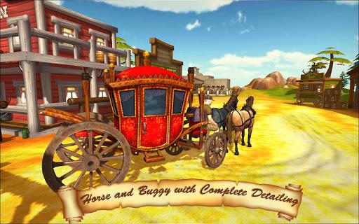Horse Taxi City Transport: Horse Riding Games painmod.com screenshots 2
