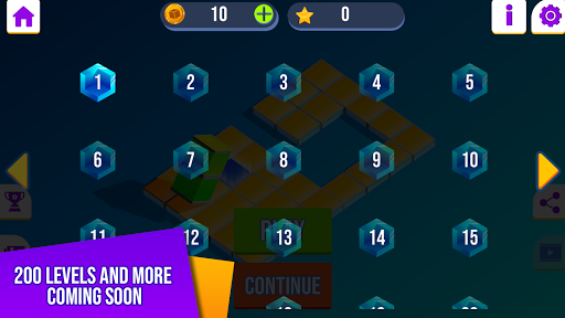Bloxorz: Brain Game  screenshots 5