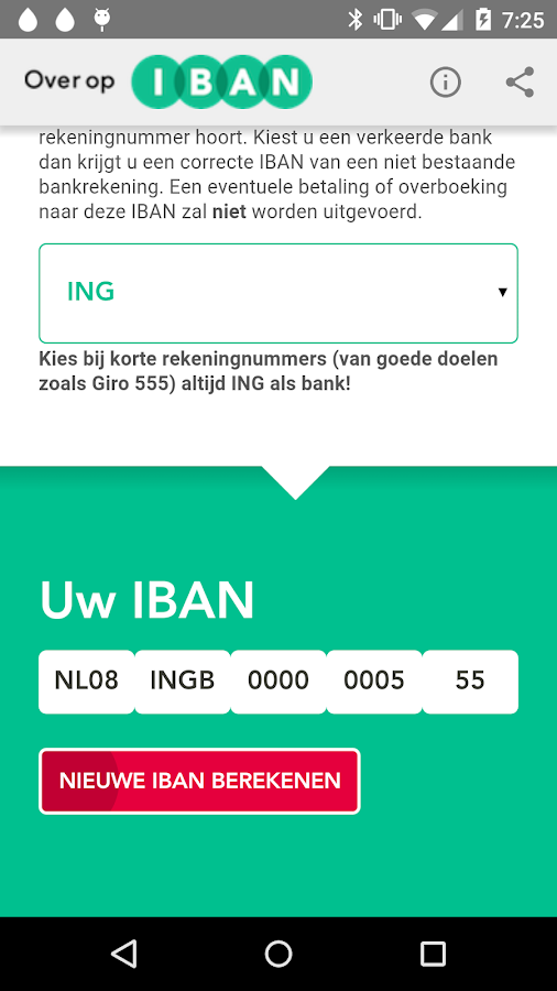 IBAN-tool- screenshot