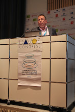 """Photo: """"Communicating Science & Innovations"""" Panel - 2012: Michel Cleassens"""