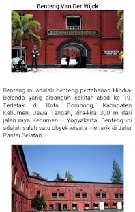 Wisata Kebumen screenshot