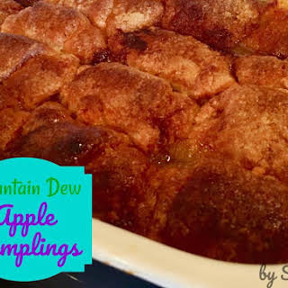 Mountain Dew Apple Pie Dumplings.