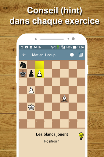 Entraîneur d'échecs - Problèmes d'échecs  captures d'écran 2