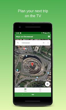 Maps on Chromecast    Map app for your TVのおすすめ画像3