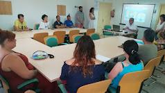Inauguración del ciclo de jornadas informativas en el CADE de Pechina.