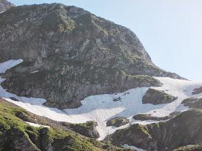 Photo: Crête terminale de Barrecul au dessus du déversoir