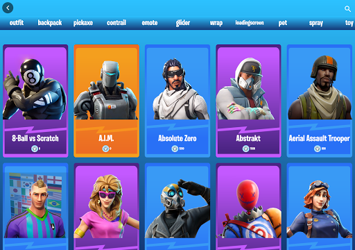 Emotes Ringtones And Daily Shop for Battle Royale screenshot 14