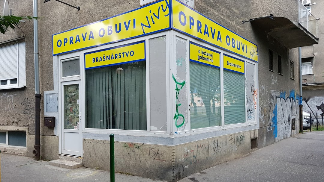 Oprava obuvi a brašnársto Nivy - Oprava obuvi v oblasti Bratislava 25396481e34