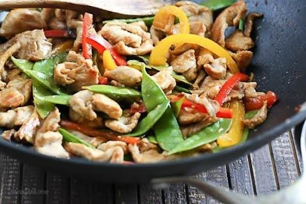 Stir Fried Pork And Mixed Veggies Recipe