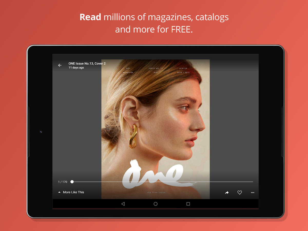 issuu: A world of magazines.- screenshot