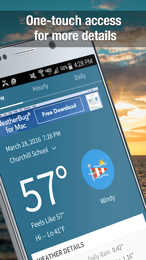 WeatherBug Widget screenshot