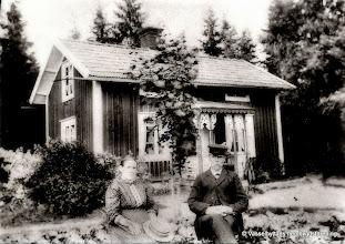 Photo: Granhult 1910 Augusta o Anders Örn
