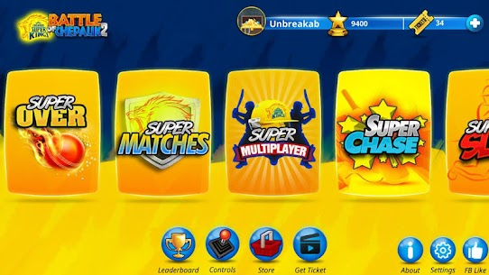 Chennai Super Kings Battle Of Chepauk 2 MOD (Ad Free/Unlimited Tickets) 2
