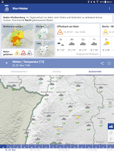WarnWetter screenshot 14