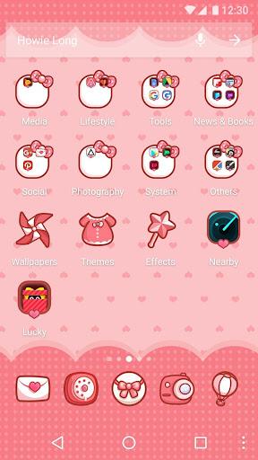 Cartoon Theme - Sweet Kitty 1.0.2 screenshots 2