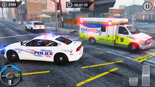 Spooky Stunt Crazy Police Parking 2020 0.1 screenshots 8