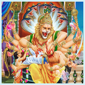 Laxmi Narasimha god Wallpapers
