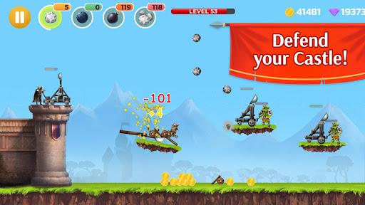 Catapult - castle & tower defense screenshot 1