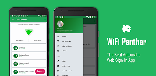 WiFi Panther - The Real Automatic Web Sign-In App - Apps on Google Play