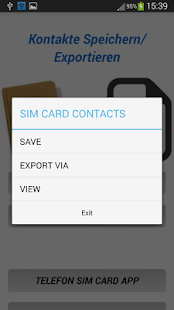 App Save-Export Contacts APK for Windows Phone