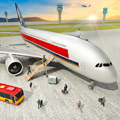 Fly Jet Flight Airplane Landing Simulator Android APK Download Free By Level9 Studios