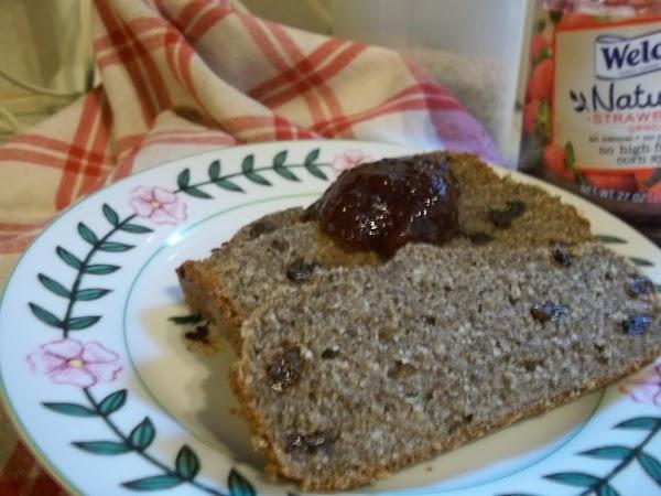 Cinnamon-raisin Gluten Free Chia Bread- Gfcf Recipe